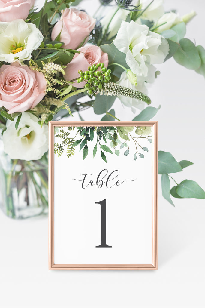 Julia Table Number