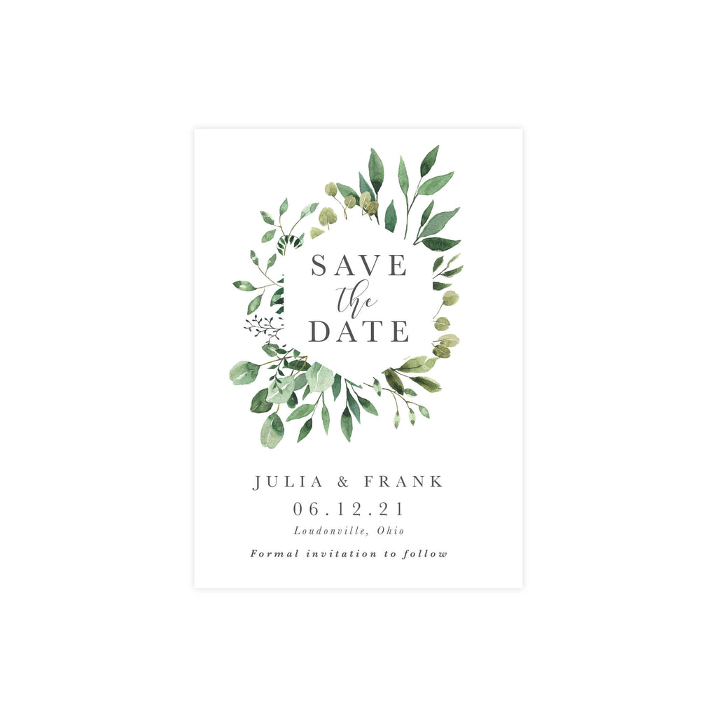 Julia Save The Date