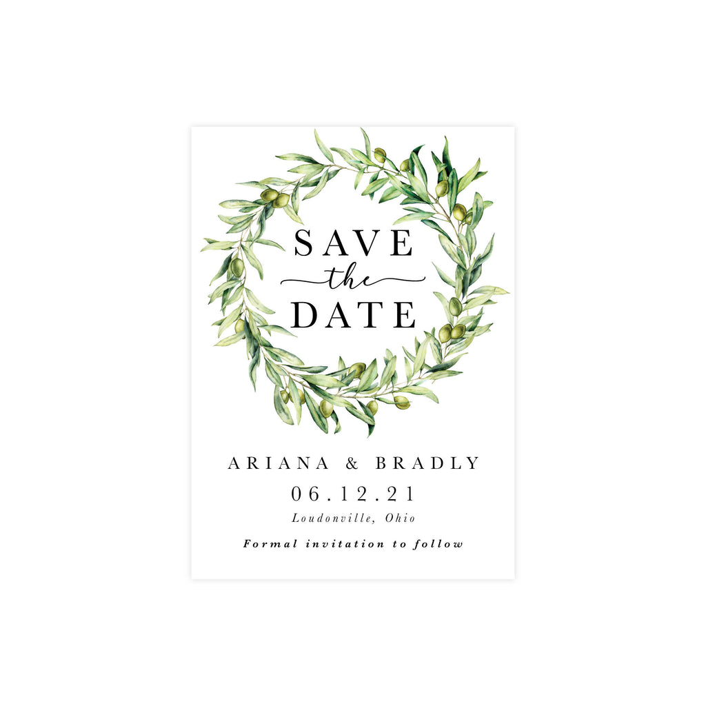 Ariana Save The Date