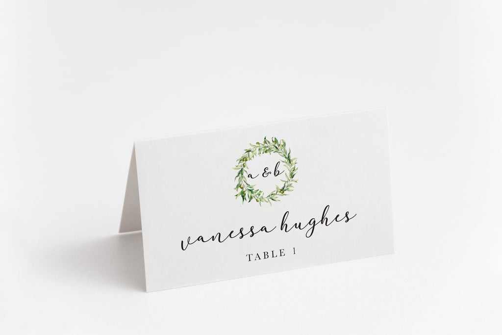 Carly Place Card