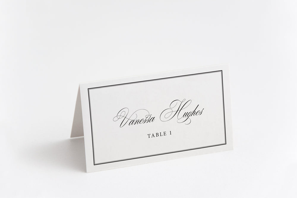 Kimberly Place Card