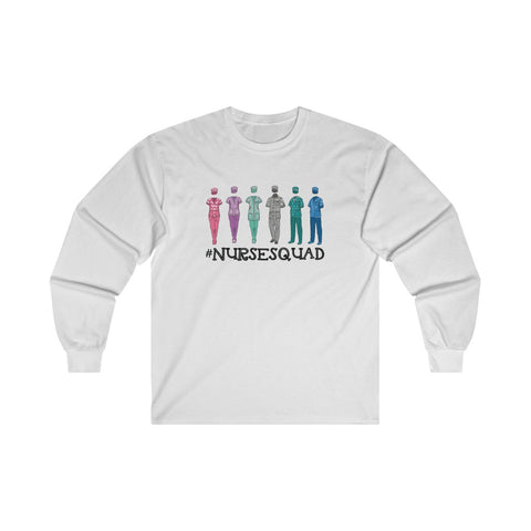 Nurse Squad Long Sleeve Tee - Knick Knack Nurse