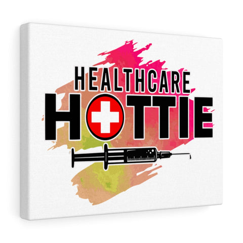 Healthcare Hottie (V1) Canvas - Knick Knack Nurse