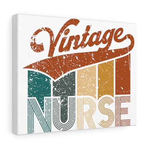 Vintage Nurse Canvas - Knick Knack Nurse