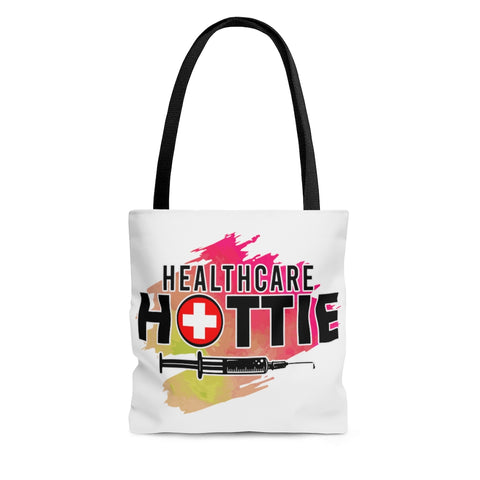 Healthcare Hottie (V1) Tote - Knick Knack Nurse