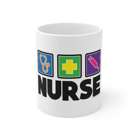 Nurse Icons Mug - Knick Knack Nurse