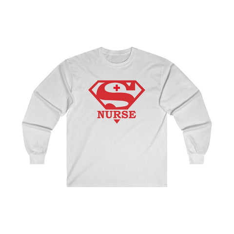 Super Nurse Long Sleeve Tee - Knick Knack Nurse