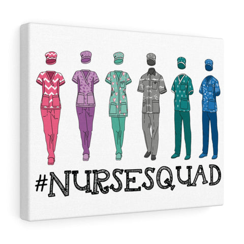 Nurse Squad Canvas - Knick Knack Nurse