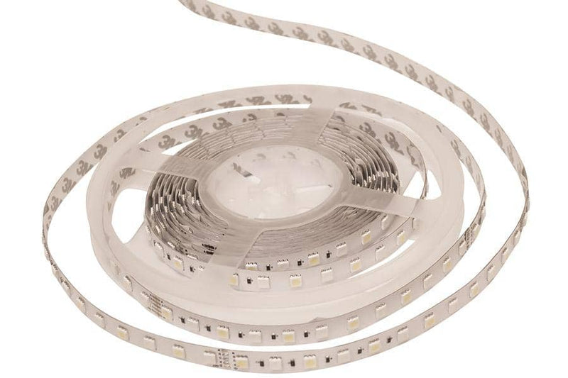 Integral LED RGBW Strip 24V IP33 5m x 12mm 4000K Colour Changing 12W/m