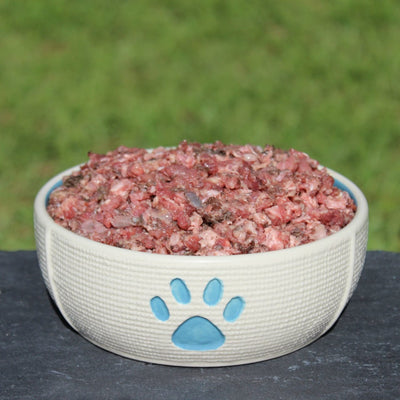 Beef and Turkey Mix (2 lbs.) raw dog food from Raw K9