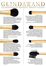 24ct Gold-Plated Makeup Brush by GlindaWand - Special Eye Brush No. 4