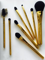 24ct Gold-Plated Makeup Brush by GlindaWand - Large Powder Brush No. 1