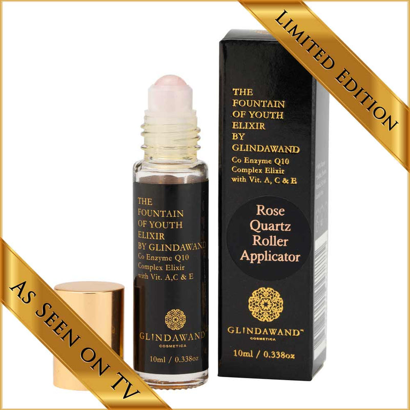 Limited Edition - The Fountain of Youth Elixir by GlindaWand with Rose Quartz Applicator