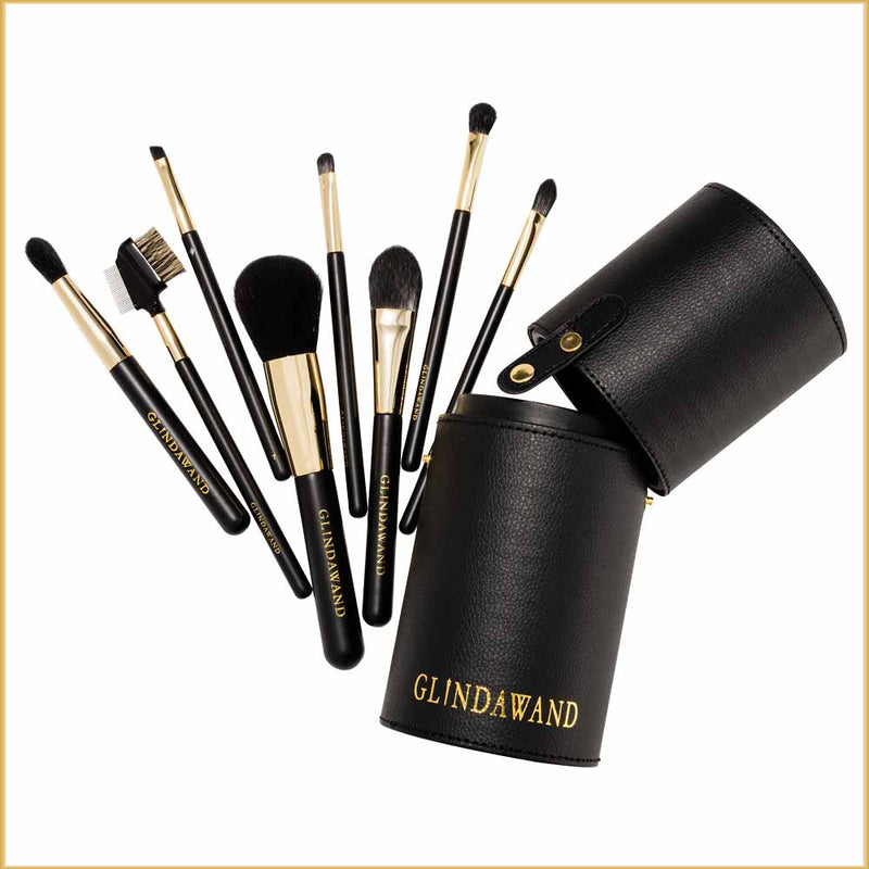 Black Label Professional by GlindaWand - Brow Brush - No. 8