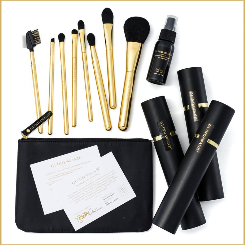 The 24ct Gold-Plated Ultimate Brush Set