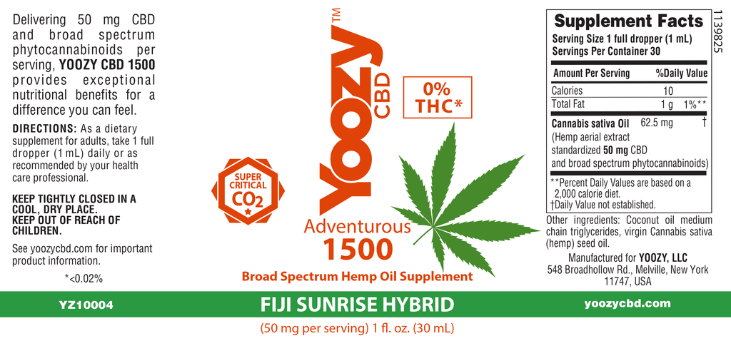 Adventurous 1500MG - Fiji Sunrise Hybrid