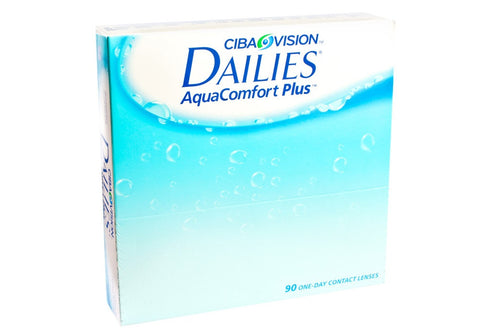 Ciba Dailies AquaComfort Plus 90 Pack