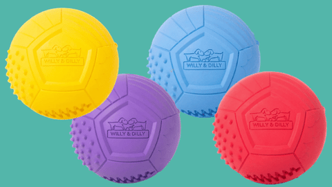 Willy & Dilly Solid Ball Toy