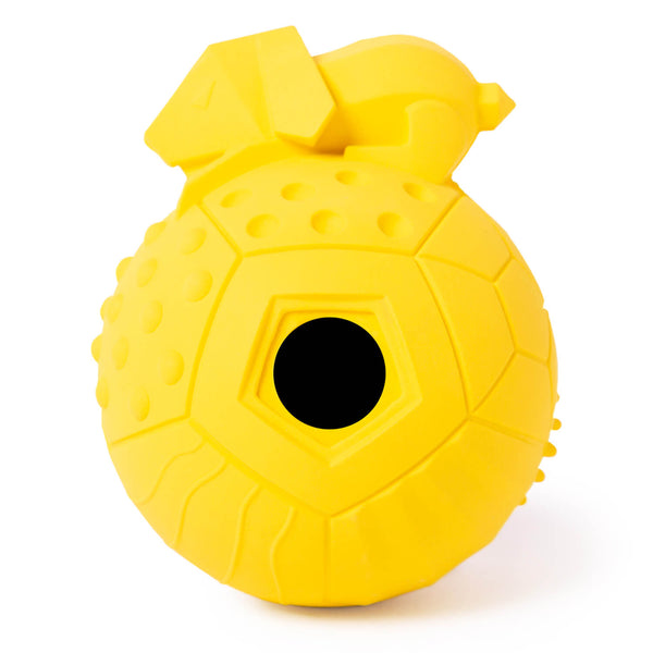 Large Dog Treat Toy - Yellow