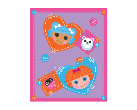 Lalaloopsy Fleece Throw