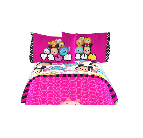 Tsum Tsum Twin Sheet Set