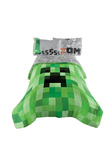 Minecraft Twin/Full Comforter