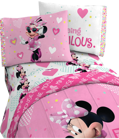 Minnie Twin Sheet Set