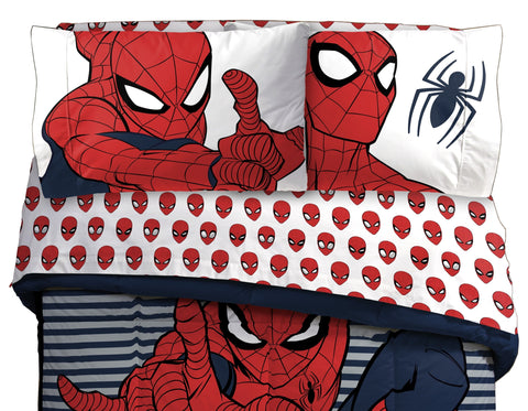 Spiderman Twin Sheet Set