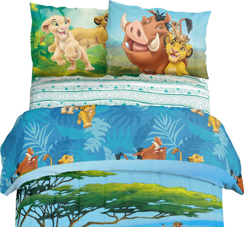 Lion King Twin Sheet Set