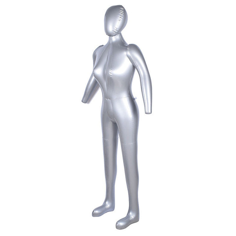 Brand new Full Body Female Model Mannequin Inflatable Model PVC Show Window Display High quality 170cm Inflatable