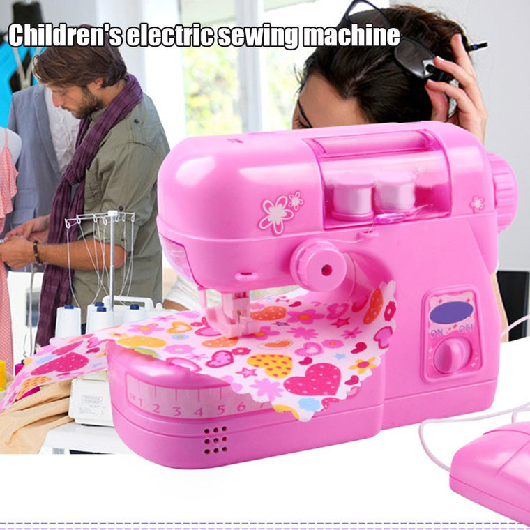 2019 Hot Children Sewing Machine Small Electric Kids Sewing Machine Home Toys Set J8 #3