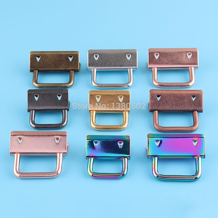 50pcs /lot 20/25/30/32mm High Quality  Key Fob Hardware Buckles For Fabric Ribbon Webbing Rope Accessories