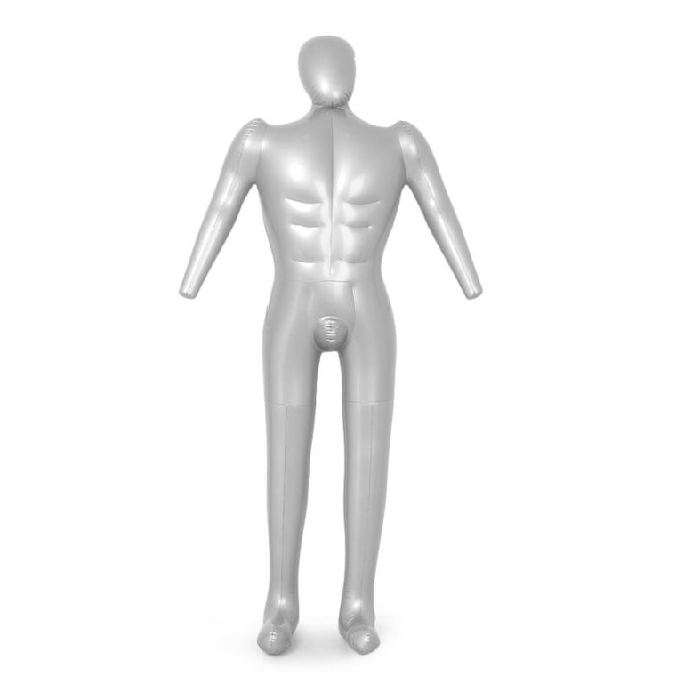 Man Full Body Inflatable Mannequin Male Dummy Torso Tailor Clothes Model Display PVC 168cm Men's Full Body Model
