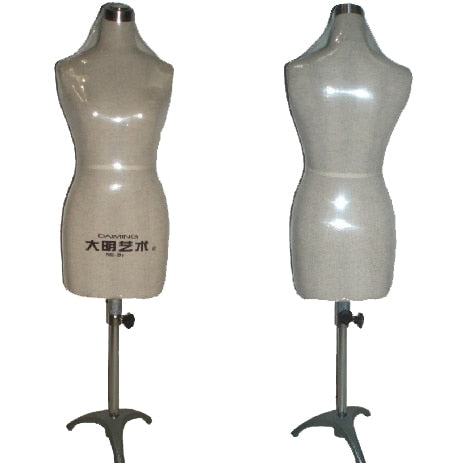 Half Size Dress Form, 1/2 dress form Mannequin, 1:2 clothing draping mannequin, pinnable clothes models~~~