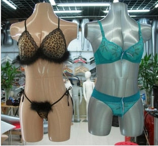 New Female 3/4 Form Inflatable Mannequin Torso Dummy Model Dress Fashion Display For Display Lingerie