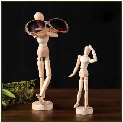 Free Shipping!! New Fashion Wooden Mannequin Wooden Child Model Puppet On Sale