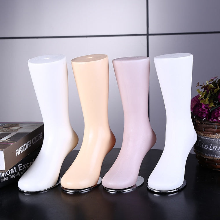 Free Shipping!! New Arrival Fashion Style Foot Mannequin Female Mannequin Foot For Socks Display