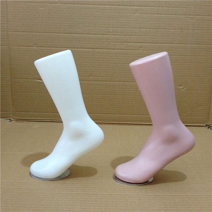 Free shipping! 2pc/lot Plastic Male Foot Mannequin Male Foot Model Made In China Factory Direct Sell