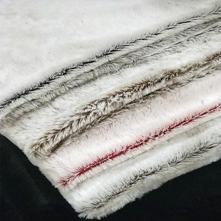 160*100cm white pv velvet  faux plush fur fabric for hats home textile coat pillow case vest Fur collar plush fur tissu telas