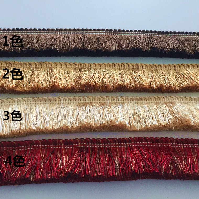 10M/lot 4.5CM width Thicken trimming,fringe,trim,4 colors, for diy sofa,pillow,curtain,accessory free shipping