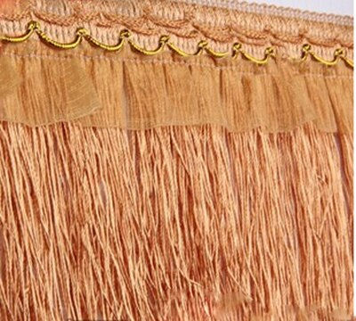 13Meters/lot Braided Lace Trim 10CM Width DIY Tassel Fringe Trimming For Curtain Sewing Accessories 5-099