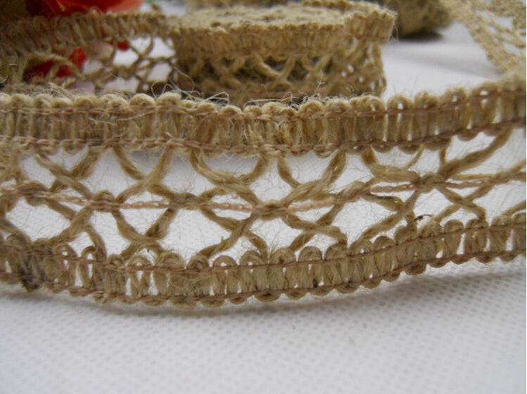 Eco-friendly 100% jute fancy weaved tassel trim 5cm wide price for 5 meters long free ship lowest price