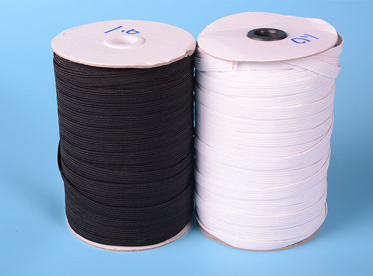 100-200m/lots 4mm-12mm white Elastic Cord Stretch Thread String Rope CH-1024
