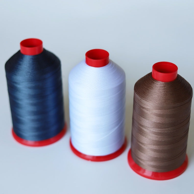 4200 meters TEX 45 0.24 mm Nylon Bonded Thread leathers upholstery,canvas high strength heavy duty sewing thread 210D/2 225g 8OZ