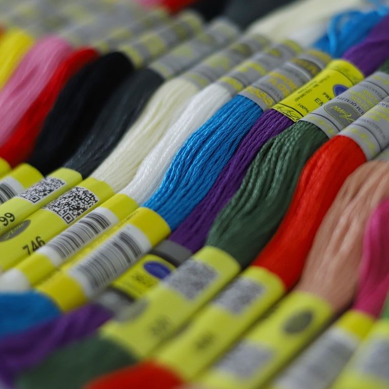 150 Different DMC Colors Cotton Floss Embroidery Thread Cross Stitch 8.7yds 100% Egyptian long fibrer cotton Double Mercerized