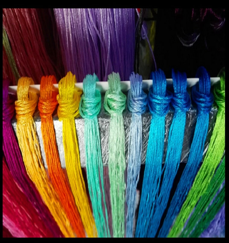 139 pieces   Cross Stitch Embroidery silk Floss Thread