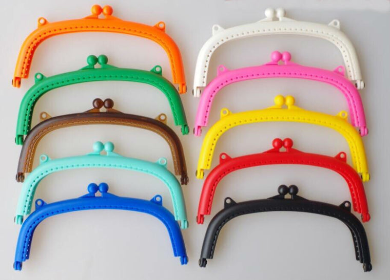 Candy Color Sew-in Arch Shape Resin Purse Frame 16/8.5cm/ clasp/ free shipping