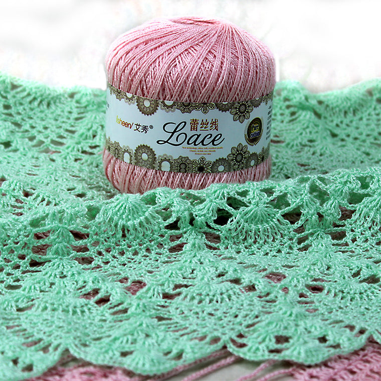 300g/lot 8# Lace Crochet Thread Cotton Thread Lace Yarn Summer Cotton Wool Fine Yarns for Hand Knitting Threads