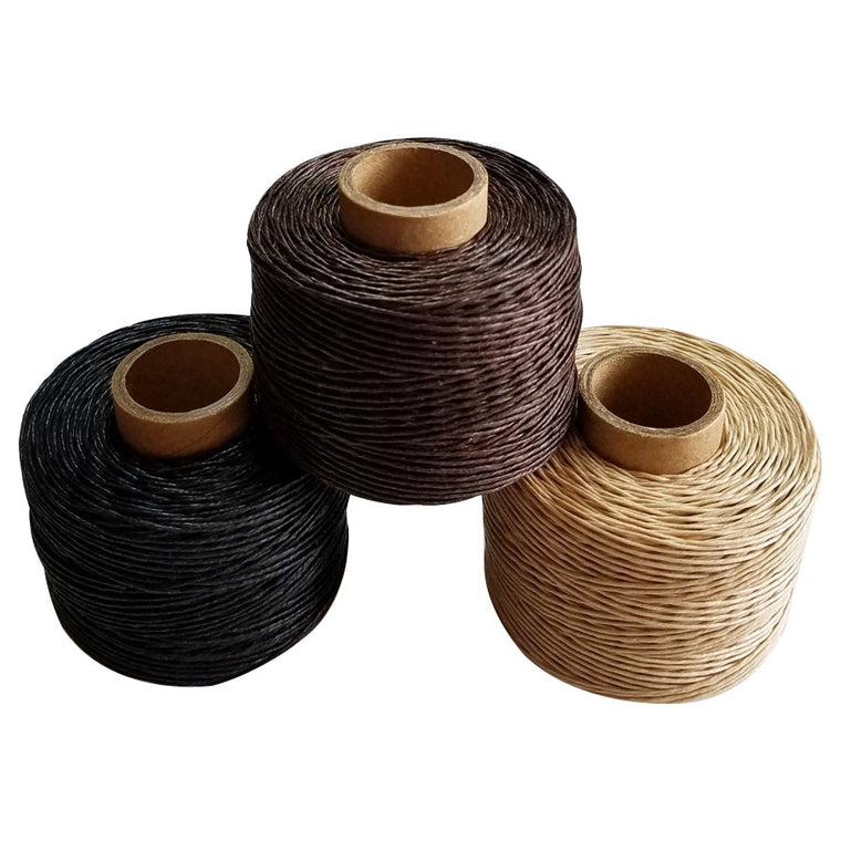 100% Linen waxed thread rope 100m/roll  high tenacity twine cord for accessory DIY