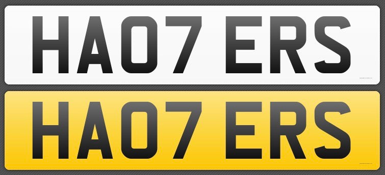 [Premium Quality 3D & 4D Number Plates in UK Online]-Private Plate King
